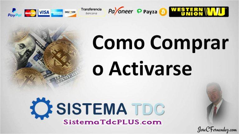 Sistema TDC Como Pagar o Depositar