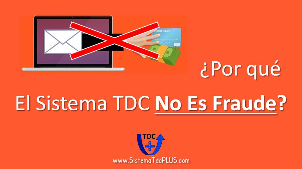 Sistema TDC - Garantia de No Fraude