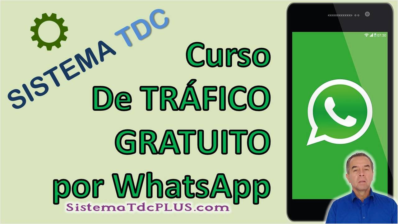 Sistema TDC Curso Trafico Gratis con WhatsApp